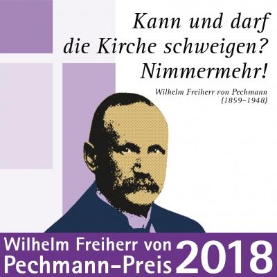 Wilhelm Freiherr von Pechmann-Preis 2018